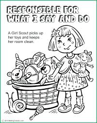 Girl Scout Coloring Pages Girl Scout Coloring Pages Fabulous Brownie