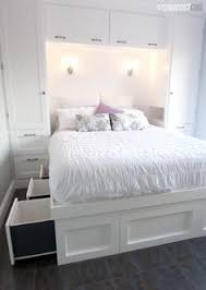 Double Beds For Small Rooms In Fresh The 25 Best Bedroom Ideas On Pinterest  Spare Room Storage Bedrooms Decor