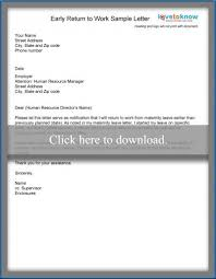 sample maternity leave letter employer examples of maternity leave letters
