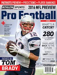 New England Patriots 2016 Team Preview And Prediction