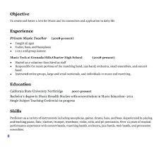 Educator Sample Resumes resume Teacher Resumes Templates Free 94