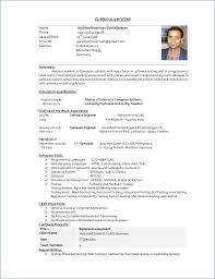 Engineering Resume Format Lovely Resume Examples For Software