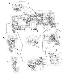 1997 dodge dakota wiring instrument panel diagram 00i67755