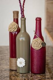 Wine Bottles Decoration Ideas 100 Easy DIY Wine Bottles Crafts And Ideas 7