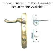 E Pella Screen Door Parts Storm Lock Locks Assembly  Handle Replacement Gallery Sliding