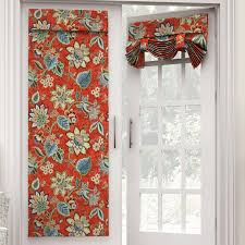 brighton blossom nature fl room darkening tab top single curtain panel