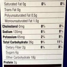 honey bunches of oats post 27 oz 1 lb 11 oz 765g throughout honey bunches of oats nutrition label