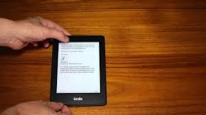 Amazon Kindle Light Amazon Kindle Paperwhite Review Front Light Demo