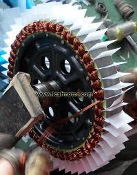 winding hub motor