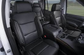 katzkin chevy tahoe black leather interior chevy tahoe