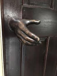 image is loading bronze hand door handle art sculpture hand made