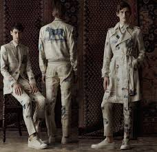 alexander mcqueen 2017 spring summer mens lookbook presentation london collections men british fashion uk