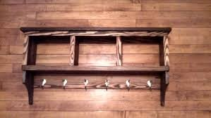 How High To Hang A Coat Rack Coat Rack With Shelf 100 Steps 78