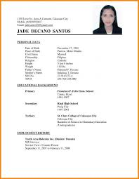 Pin By Drive On Template Simple Resume Format Sample