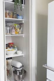 turning a water heater closet into a pantry before after