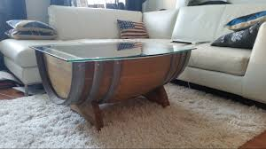 wine barrell furniture. I Made A Wine Barrel Table With Whiskey Showcase Barrell Furniture