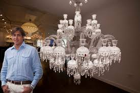 a thing of bling baccarat s 170 000 chandelier lands in new york