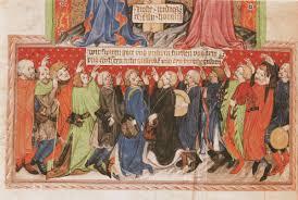 Jeho občanské hnutí ponese název přísaha. Konselska Prisaha Z Pravniho Kodexu Mesta Jihlavy Codex Gelnhausen Painting Art Gothic