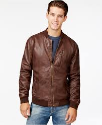 leather er jacket