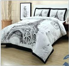 eiffel tower comforter set travel themed comforter set tower double full size quilt cover new