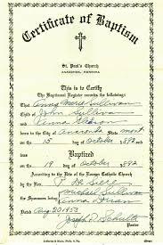 Perfecto Water Baptism Certificate Template Elaboración - Para La ...