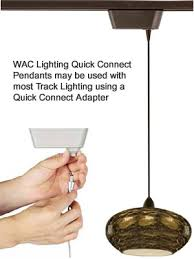 track lighting pendant. WAC Lighting Quick Connect Pendants For Track Pendant