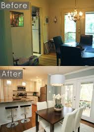 Kitchen Dining Room Remodel Dining Room Remodel Remodelaholic Creating An Open Kitchen And