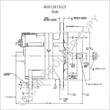 a0012815lcf alternator product details prestolite leece neville a0012815lcf side dim drawing output curve a0012815lcf output curve wiring diagram