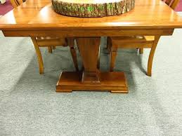 fulton trestle extension table from