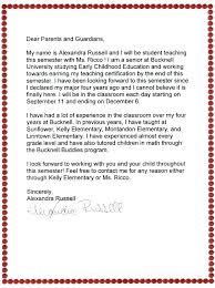 Teacher Templates For Parent Letters Danielpirciu Co