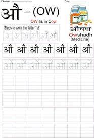 100 Easy Ways To Learn Hindi Varnamala With Images And