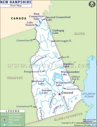 new hampshire rivers map  rivers in new hampshire
