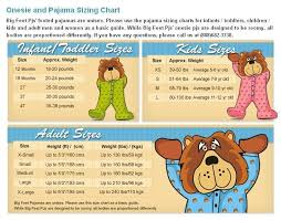 Big Feet Pjs Size Chart Big Feet Pjs Red Fleece Footed Pajamas And 37 Similar Items