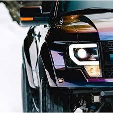 3m 1080 Gloss Flip Deep Space Gp278 Vinyl Car Wrap Film Sample 2 5in X 4in