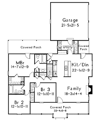 Mayland Country Style Home Plan 001D0031  House Plans And MoreCountry Floor Plans