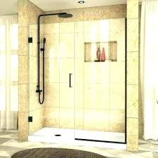 beautiful frameless shower cost shower door installation cost showers semi shower door black doors showers the