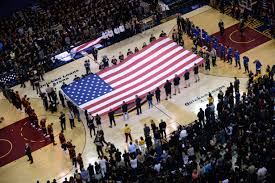 Celebrating America with the Cavs ...