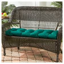 outdoor sunbrella swing bench cushion