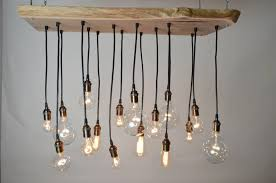 diy edison bulb chandelier shades