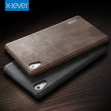 sony xperia z5. x-level new vintage leather phone case for sony xperia z5 premium ultra thin