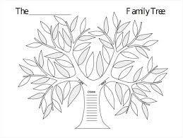Blank Family Tree Template Free Premium Template Blank Family Tree Template 31 Free Word Pdf Documents Download
