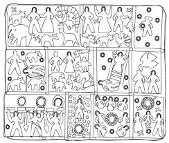 The Recognitions: Mrs. Harriet Powers, Bible Quilt (reproduction ... & The Recognitions: Mrs. Harriet Powers, Bible Quilt (reproduction) - here is  a line drawing of the Powers quilt by Atlanta artist Hope Hilton. Adamdwight.com