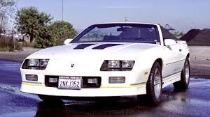 Chevrolet Camaro IROC Z Convertible 1988 90 - YouTube