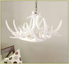 cute faux antler chandelier design that will make you feel charmed for home decoration ideas with faux antler chandelier design