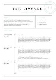 3 Page Resume Template Indd Docx By Blackdotresumes On
