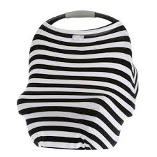 Itzy Ritzy <b>Mom Boss</b> 4in1 Nursing Cover - Black/White Stripe : Target