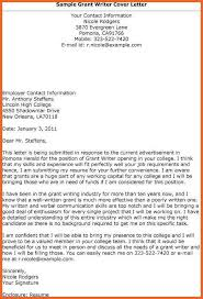 Grant Writer Resume Fascinating Grant Writing Examples Grant Writer Write Cover Letter Bid