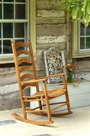 wooden porch rockers ash wood outdoor rocking chair front3 chair
