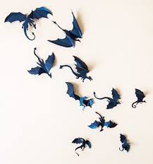 3d dragon wall decal
