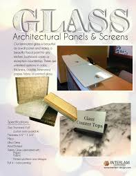 Interlam Design Glass Architectural Panels And Screens By Interlam Inc Issuu